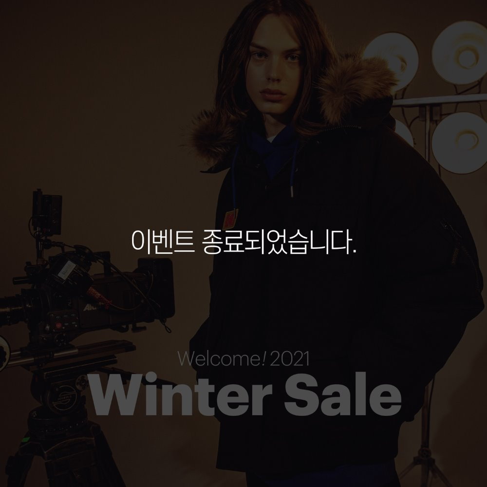 Winter sale (20.12.11~21.1.31)